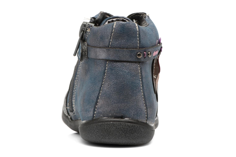 Bottines et boots Bopy Niplume kouki Bleu vue droite