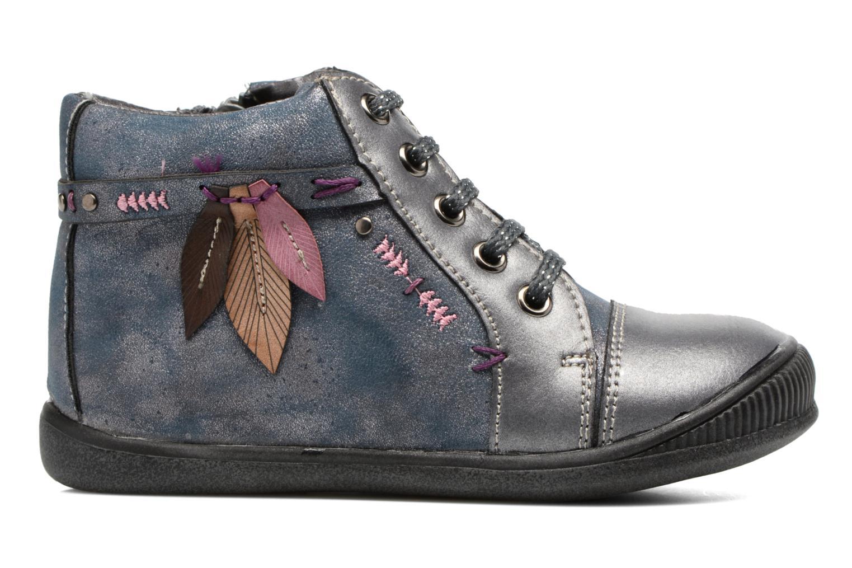 Bottines et boots Bopy Niplume kouki Bleu vue derrière