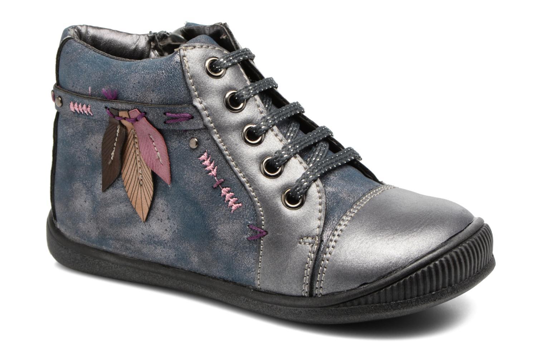 Bottines et boots Bopy Niplume kouki Bleu vue détail/paire
