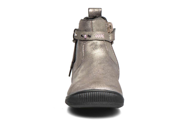 Bottines et boots Bopy Navicole kouki Or et bronze vue portées chaussures