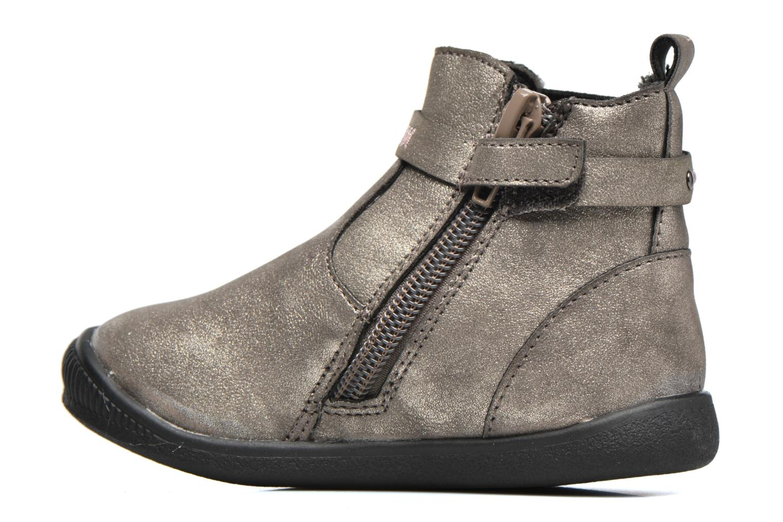 Bottines et boots Bopy Navicole kouki Or et bronze vue face