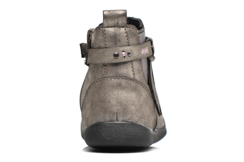 Bottines et boots Bopy Navicole kouki Or et bronze vue droite