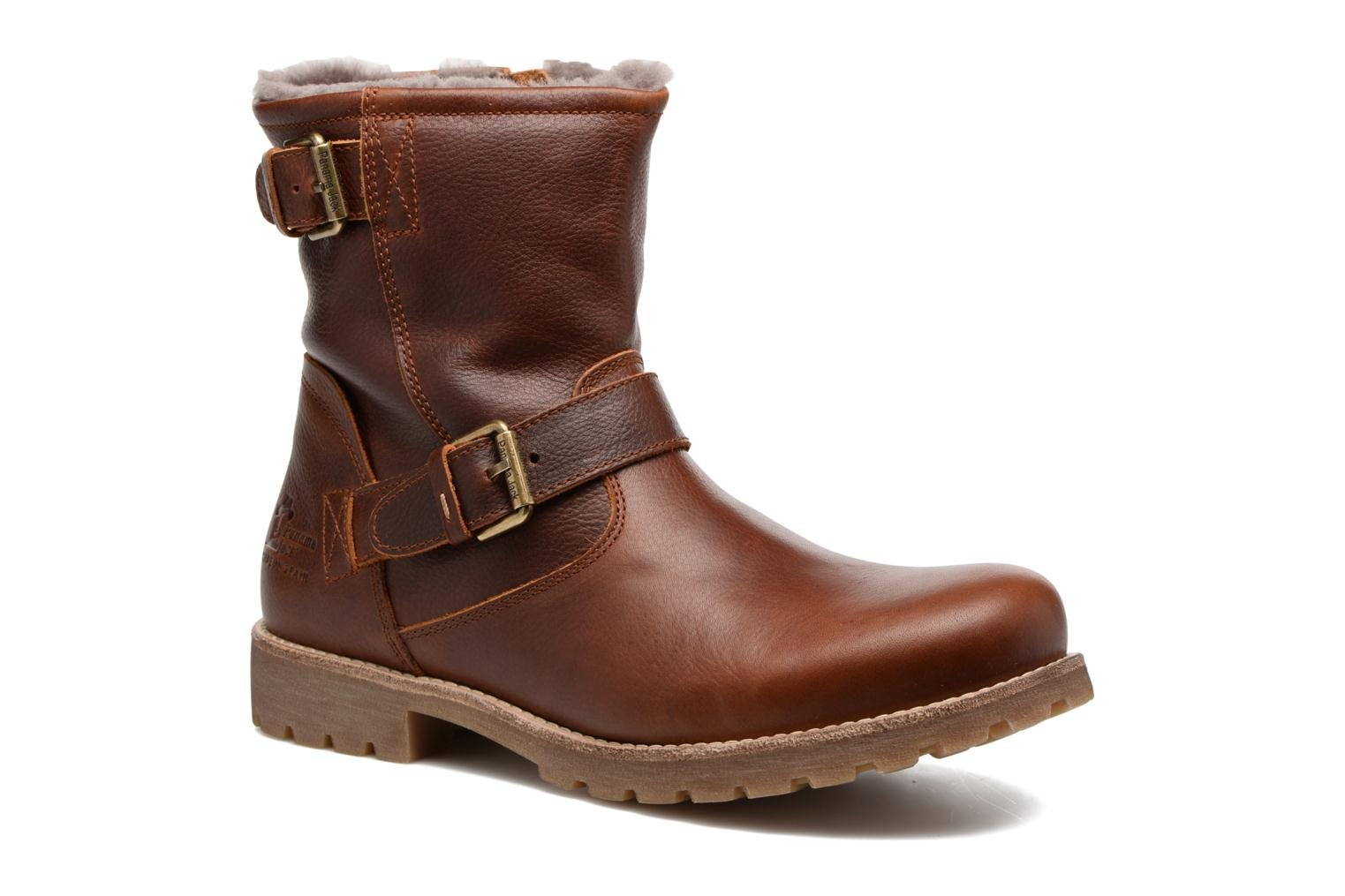 Bottines et boots Panama Jack Faust Igloo C21 Marron vue détail/paire