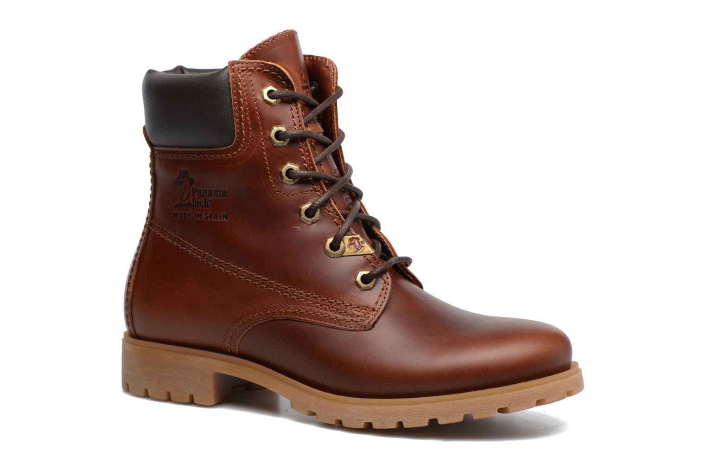 Bottines et boots Panama Jack Panama 03 B63 Marron vue détail/paire