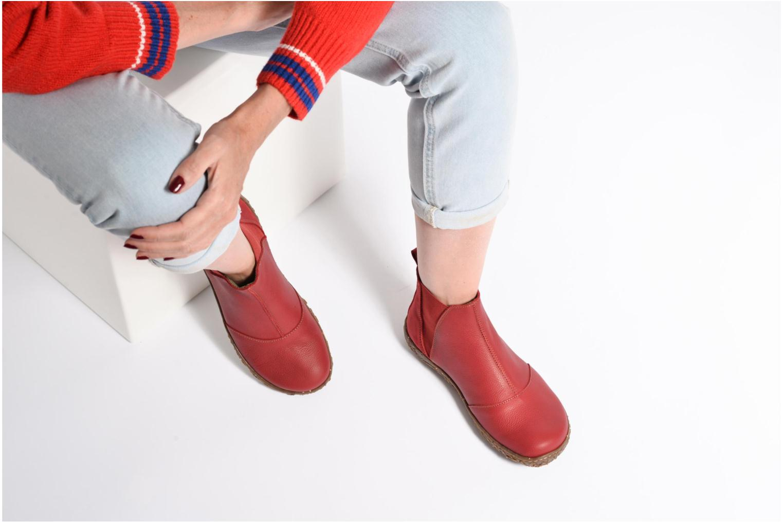 Bottines et boots El Naturalista Nido Ella N786 Rouge vue bas / vue portée sac