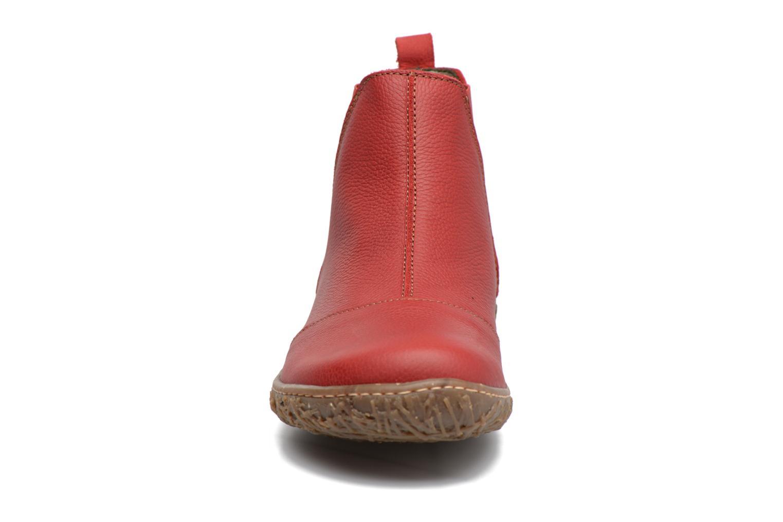 Bottines et boots El Naturalista Nido Ella N786 Rouge vue portées chaussures