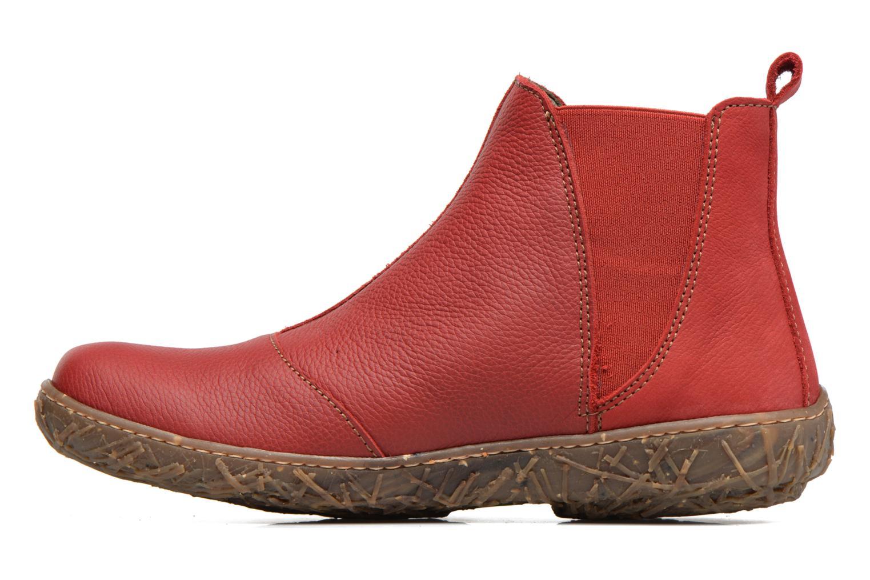 Bottines et boots El Naturalista Nido Ella N786 Rouge vue face