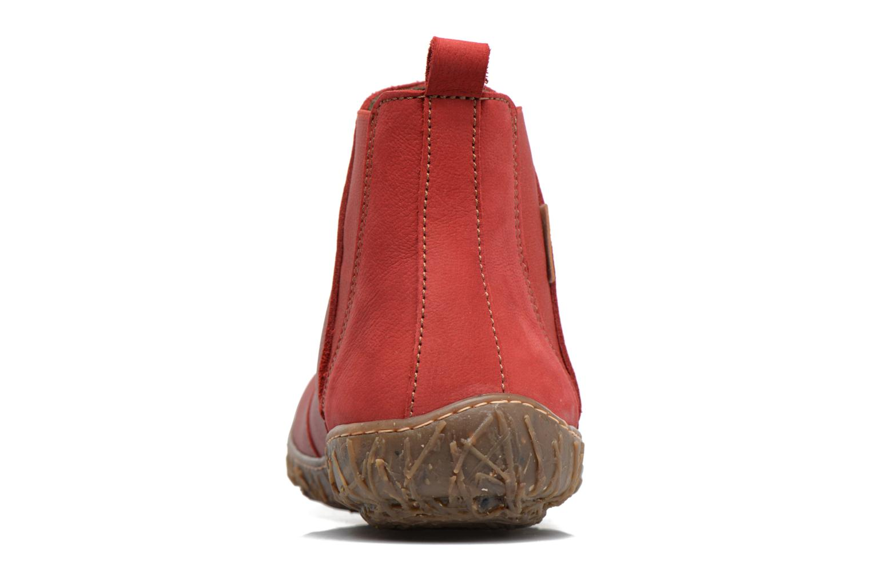 Bottines et boots El Naturalista Nido Ella N786 Rouge vue droite