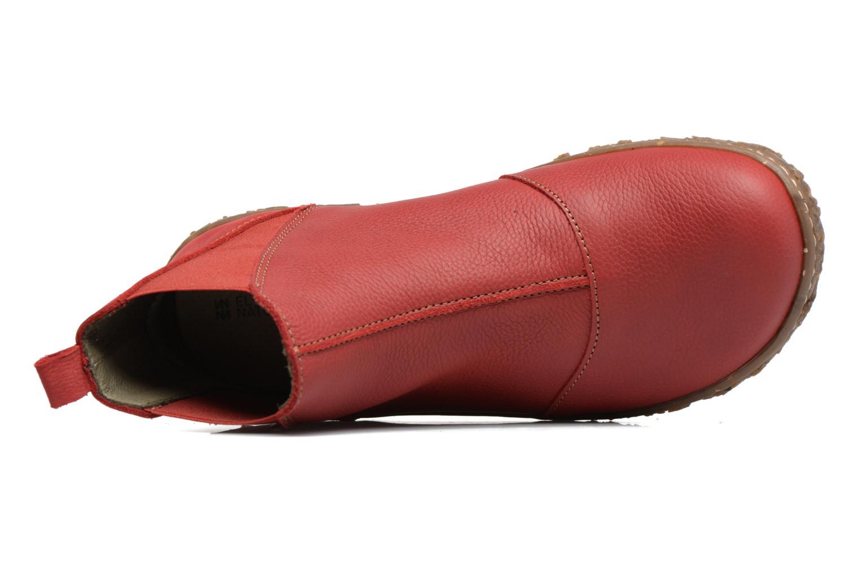 Bottines et boots El Naturalista Nido Ella N786 Rouge vue gauche
