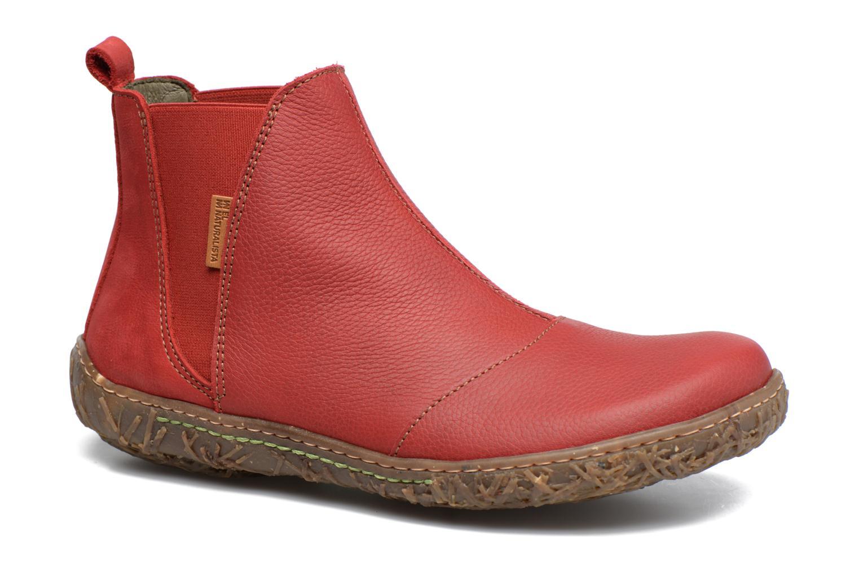Bottines et boots El Naturalista Nido Ella N786 Rouge vue détail/paire