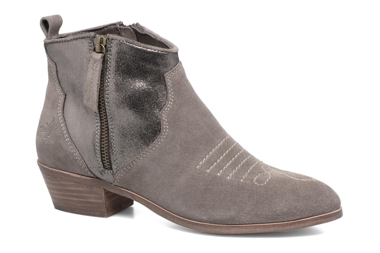 Zapatos promocionales Kaporal Nayade (Gris) - Botines    Gran descuento