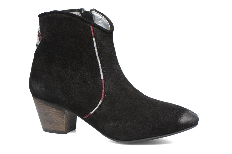 Boots en enkellaarsjes Kaporal Vuber Zwart detail
