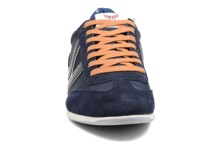 Baskets Kaporal Kalpes Bleu vue portées chaussures