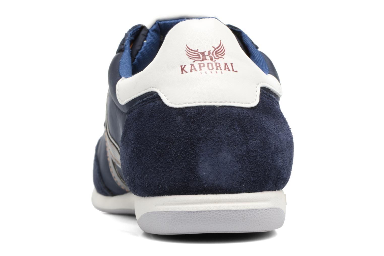Baskets Kaporal Kalpes Bleu vue droite