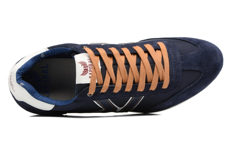 Baskets Kaporal Kalpes Bleu vue gauche