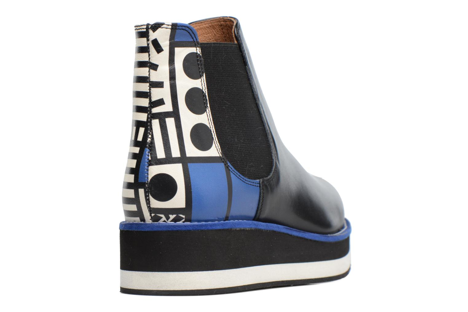 Bottines et boots Made by SARENZA Made by Sarenza X Camille Walala Flat Boots Multicolore vue haut