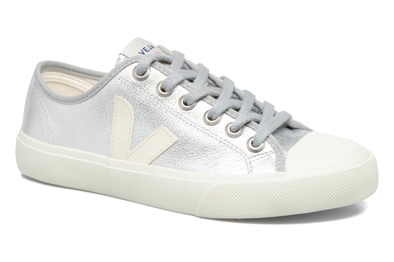 Los últimos zapatos de descuento para hombres y mujeres Veja WATA LEATHER (Plateado) - Deportivas en Más cómodo