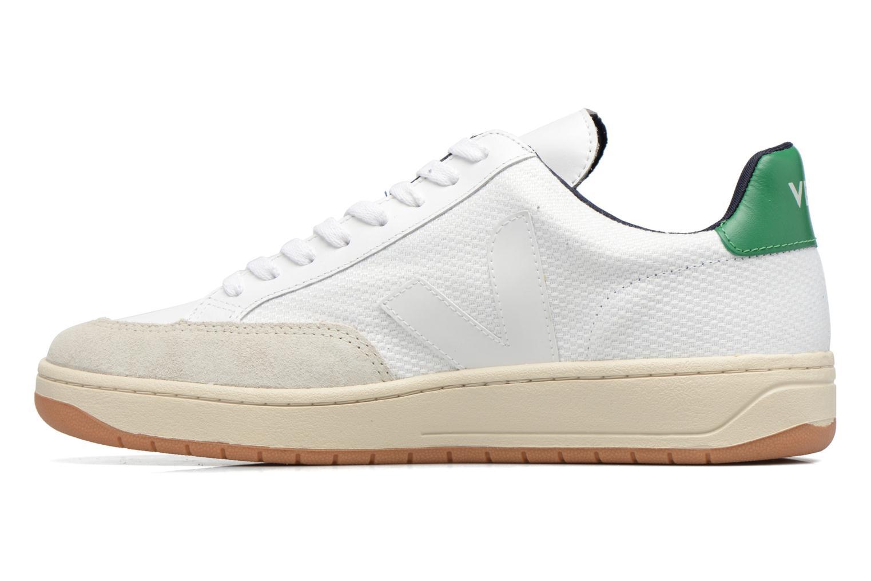 Sneakers Veja V-12 B-MESH Wit voorkant