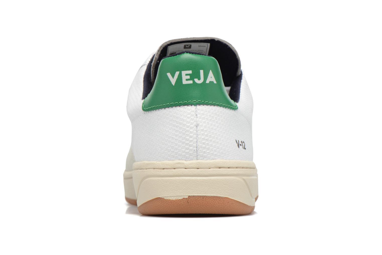 Sneakers Veja V-12 B-MESH Wit rechts