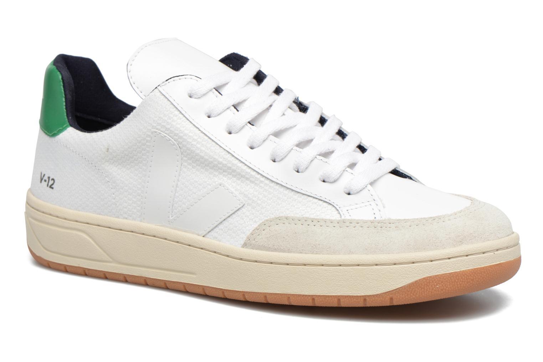 Sneakers Veja V-12 B-MESH Wit detail
