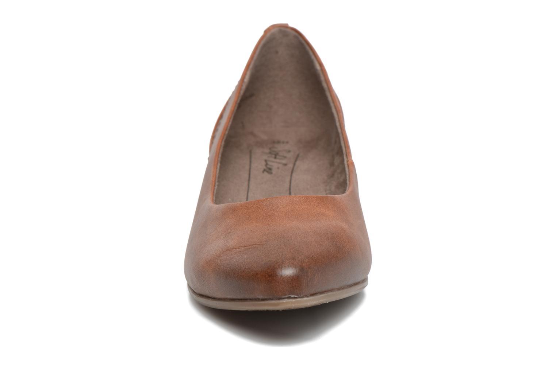 Ballerines Jana shoes Filora Marron vue portées chaussures