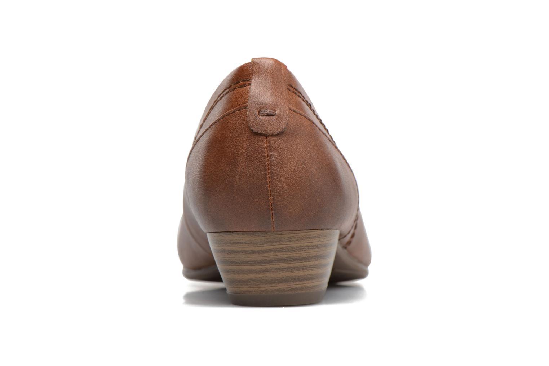 Ballerines Jana shoes Filora Marron vue droite