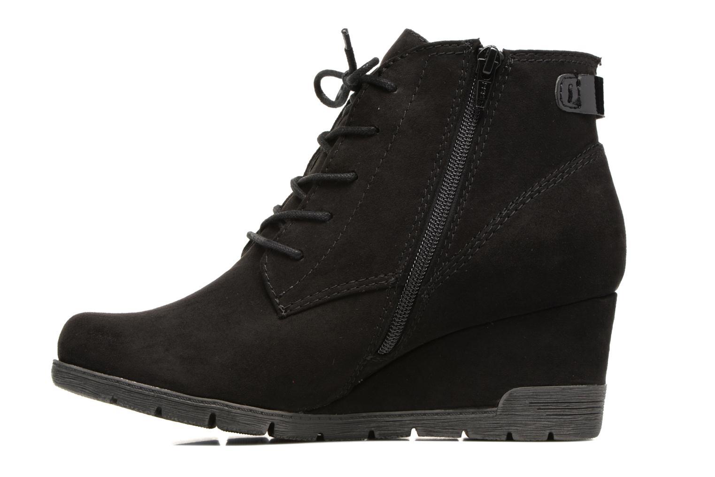 Bottines et boots Jana shoes Pola Noir vue face