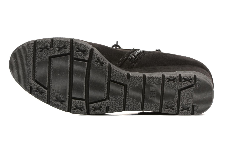Bottines et boots Jana shoes Pola Noir vue haut