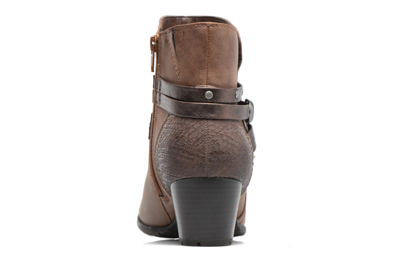 Bottines et boots Jana shoes Palino Marron vue droite