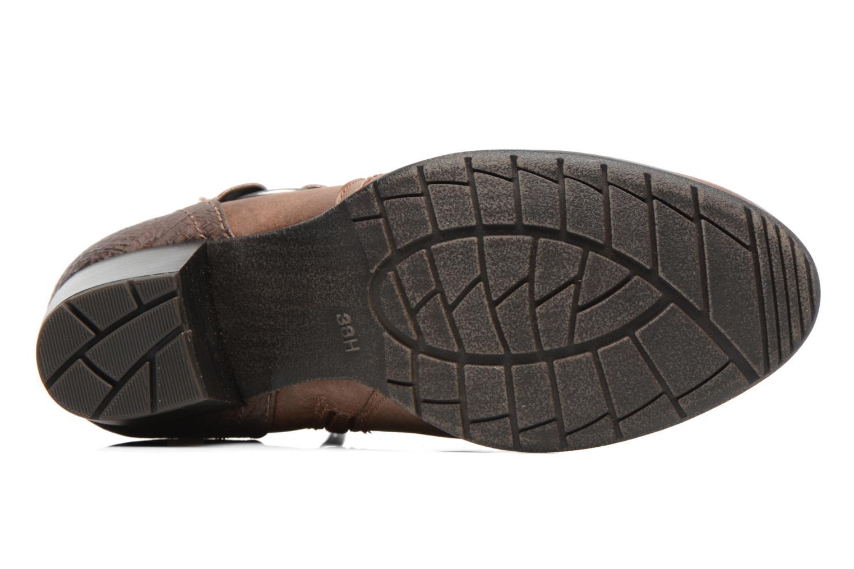 Bottines et boots Jana shoes Palino Marron vue haut