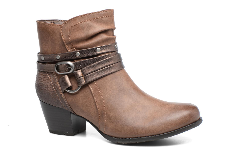 Bottines et boots Jana shoes Palino Marron vue détail/paire