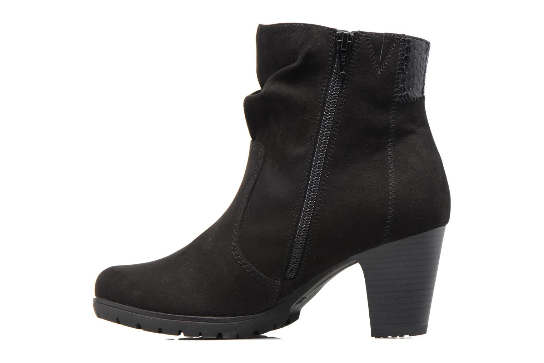 Bottines et boots Jana shoes Antona Noir vue face