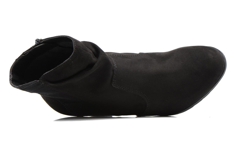 Bottines et boots Jana shoes Antona Noir vue gauche