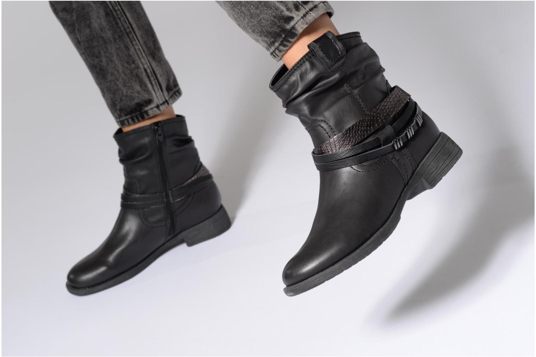 Bottines et boots Jana shoes Viorne 2 Gris vue bas / vue portée sac