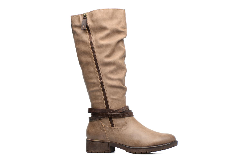 Bottes Jana shoes Yelena Beige vue derrière