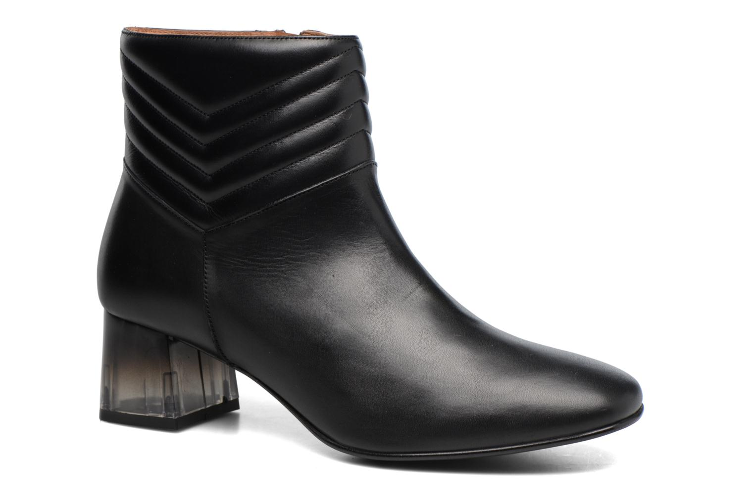 Ankle boots Made by SARENZA Winter Ski #4 Black view from the right