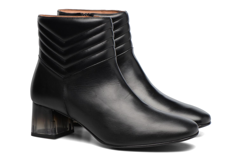 Bottines et boots Made by SARENZA Winter Ski #4 Noir vue derrière