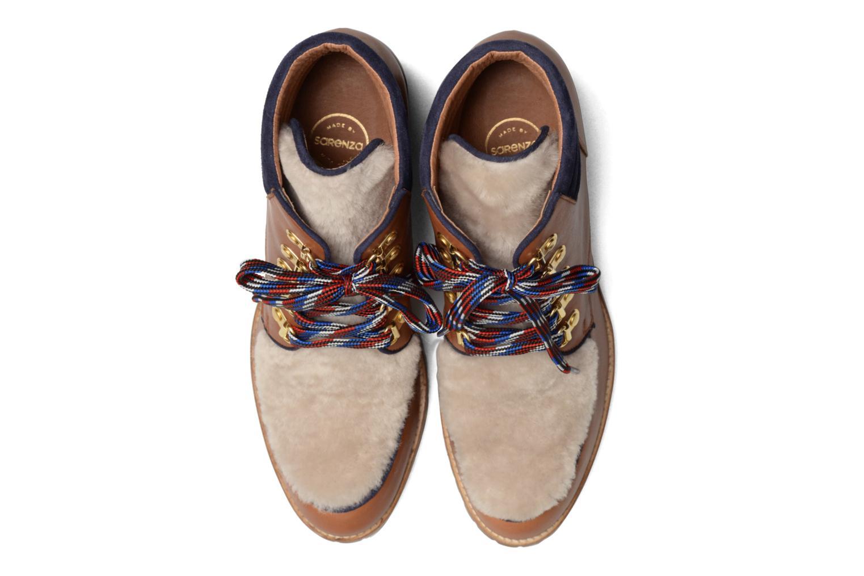 Bottines et boots Made by SARENZA Winter Ski #6 Marron vue portées chaussures