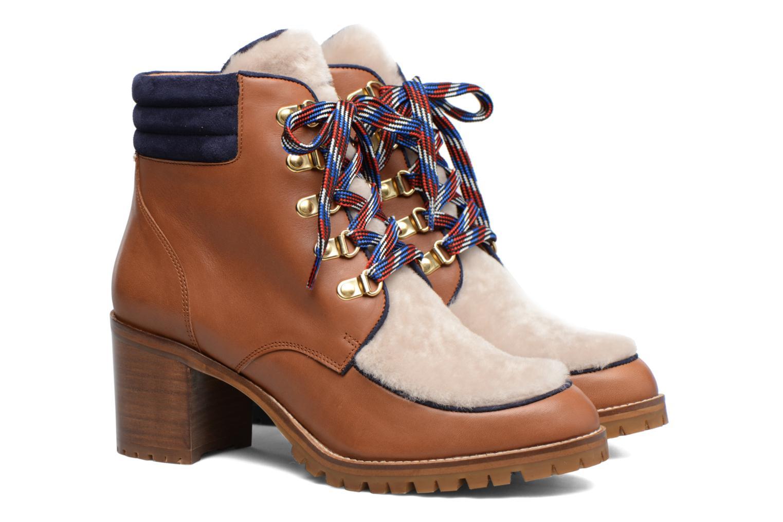 Bottines et boots Made by SARENZA Winter Ski #6 Marron vue derrière