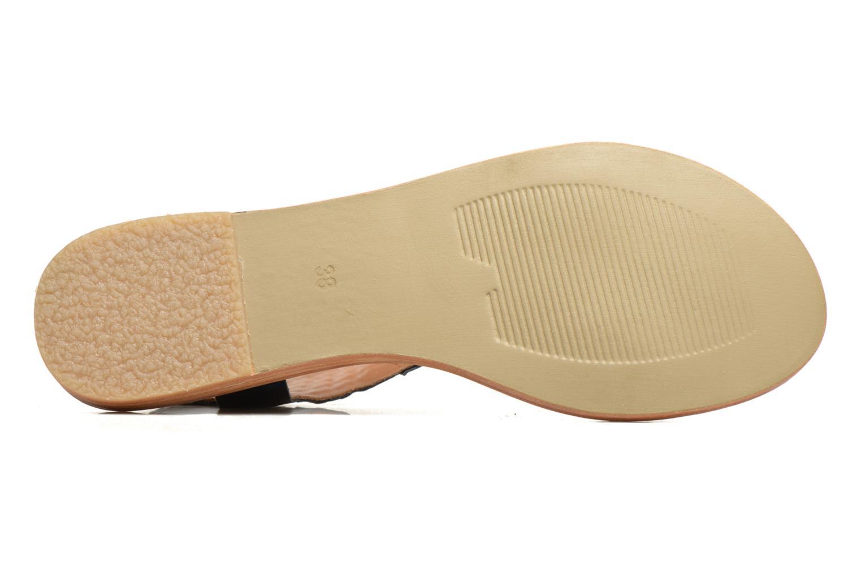 Sandales et nu-pieds Kickers Newstyle Bleu vue haut