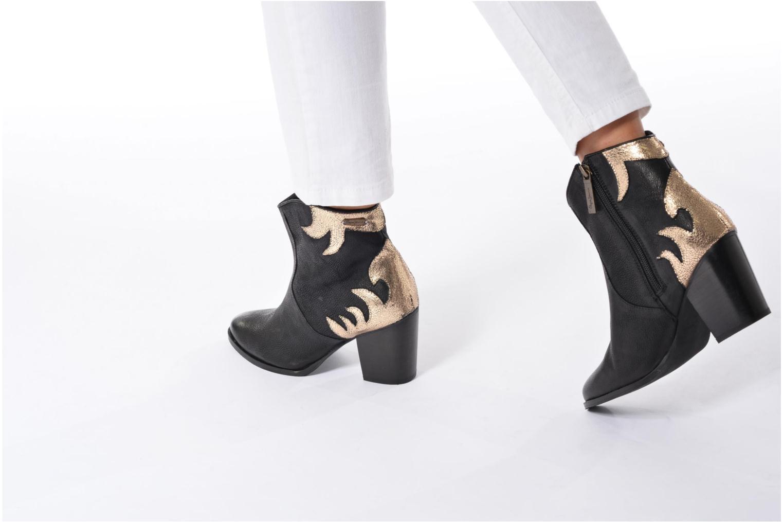 Bottines et boots Pepe jeans DOLLY BURN Noir vue bas / vue portée sac