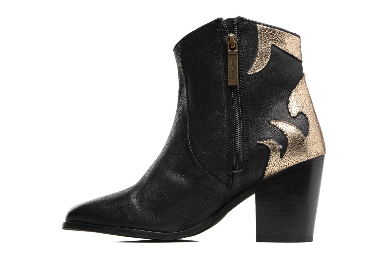 Bottines et boots Pepe jeans DOLLY BURN Noir vue face