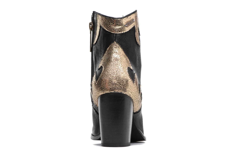 Bottines et boots Pepe jeans DOLLY BURN Noir vue droite
