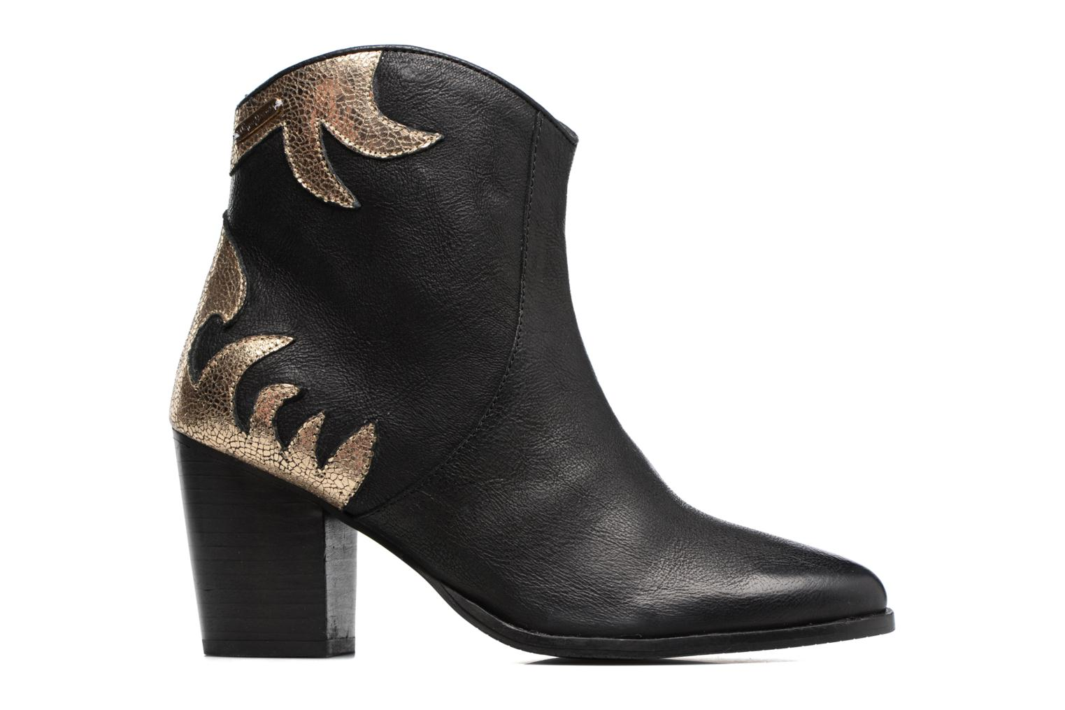 Ankle boots Pepe jeans DOLLY BURN Black back view
