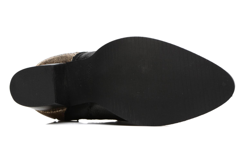 Bottines et boots Pepe jeans DOLLY BURN Noir vue haut