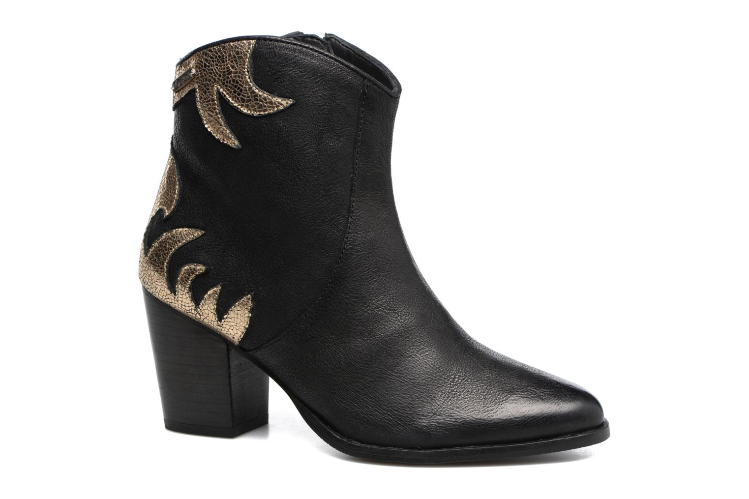Ankle boots Pepe jeans DOLLY BURN Black detailed view/ Pair view