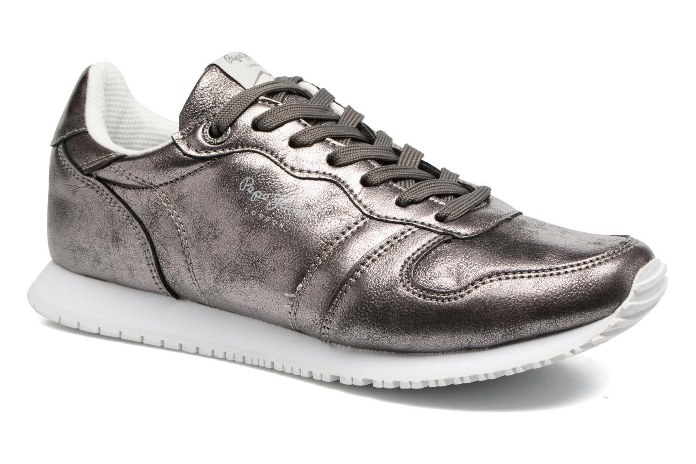 Zapatos promocionales Pepe jeans Gable Plain (Plateado) - Deportivas   Cómodo y bien parecido