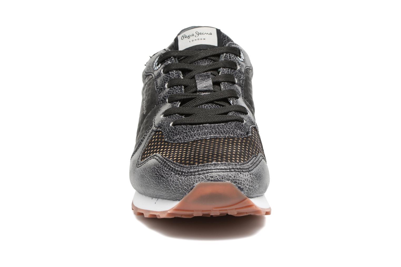Baskets Pepe jeans Verona Remake Noir vue portées chaussures