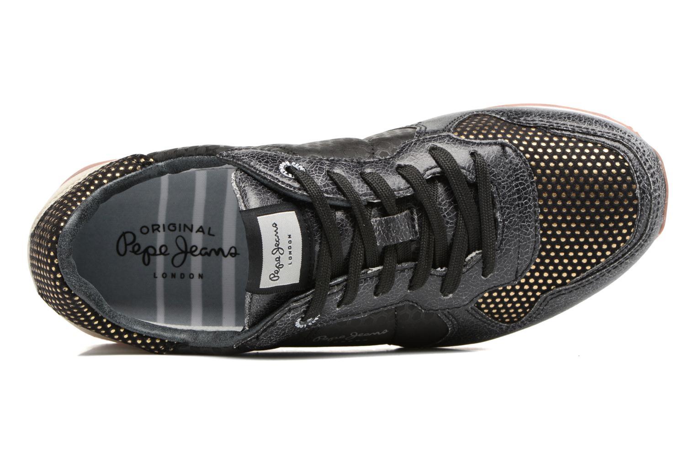 Baskets Pepe jeans Verona Remake Noir vue gauche