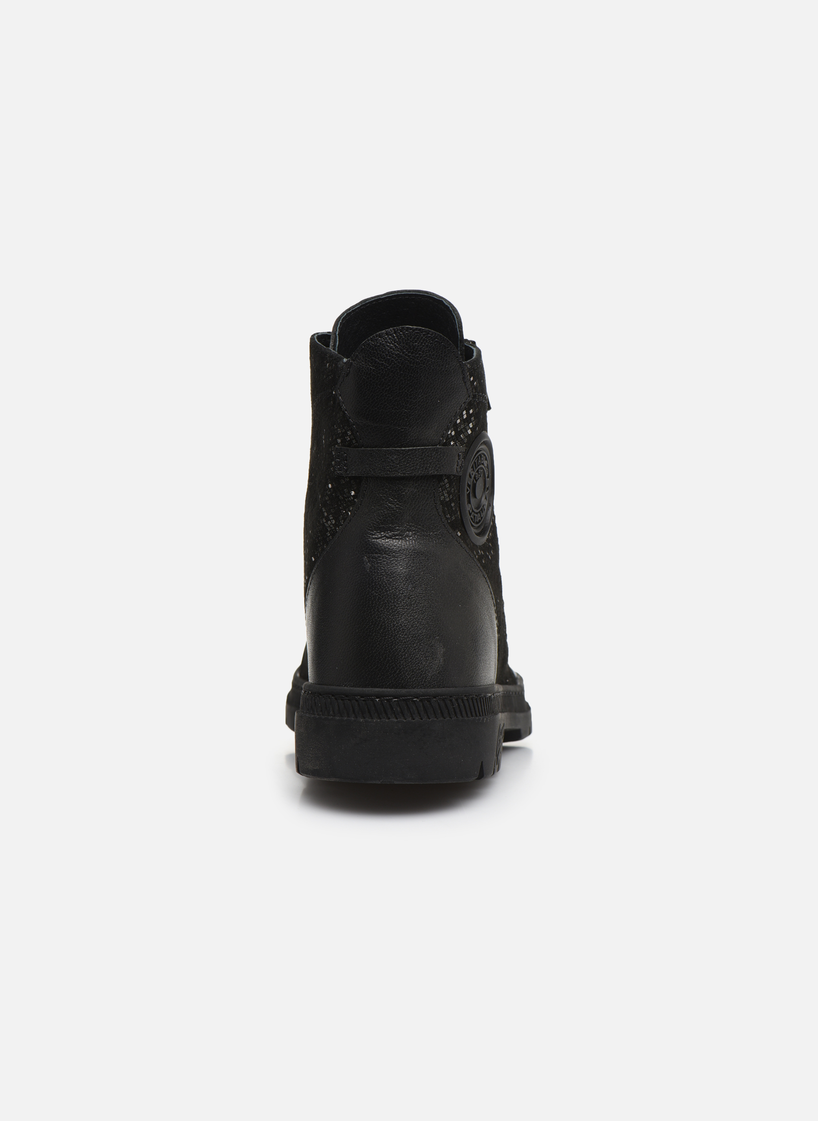 Ankle boots Pataugas Albin Black view from the right